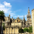 Cathedral of Sevilla in Andalucia, Spain - Stock Photo