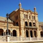Plaza of Spain in Sevilla — Stock Photo