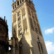 The Giralda Tower in Seville — Stock Photo