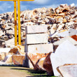 Marble blocks on quarry. — Stock Photo