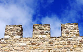 Wall of old castle — Stock Photo