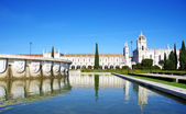 Jeronimos Monastery in Belem, Lisbon, Portugal — Stock Photo