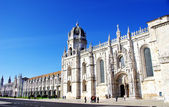 Jeronimos old Monastery in Lisbon, Portugal — Stock Photo