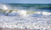 Waves on Manta Rota beach, Algarve — Stock Photo