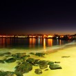 Night scene on portuguese beach — Stock Photo #19390157