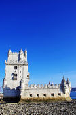 Tower of Belem, Lisbon, Portugal. — 图库照片