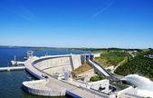 Barrage of Alqueva, Portugal — Stock Photo