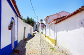 Street of Terena village — Stock Photo