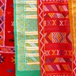 Arabic colorful  blanket - Stock Photo