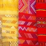 Arabic colorful blanket — Stock Photo #25649769