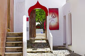 Moorish architecture at old village — Stock Photo