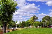 Reguengos de Monsaraz garden, south of Portugal — Stock Photo