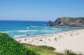 Beach of Odeceixe village, Portugal — Stok fotoğraf