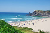 Beach of Odeceixe village, Portugal — Stock Photo