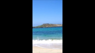 Pessegueiro Island . Portugal — Stok video