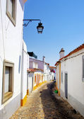 Old street in Evora. Portugal. — Stockfoto