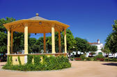 Bandstand in public garden, Redondo village — Photo