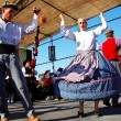 Folk dance group of the Minho region, Portugal. — Stock Photo