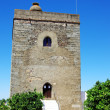 Tower of castle,Redondo, Portugal — Stock Photo