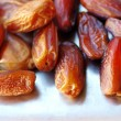 Dried dates fruits — Stock Photo
