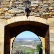 Door of old castle, Monsaraz,Portugal — Stock Photo