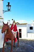 Monsaraz village,in Christmas time — Stockfoto