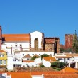 Town Silves in l Algarve, Portugal — Stock Photo