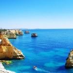 Algarve beach marinha, Portugal — Stock Photo