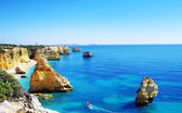 Algarve beach marinha, Portugal — Stock Photo