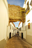 Old Street of Serpa village, Portugal  — Stock Photo