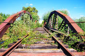 Abandoned Rail track, at south of Portugal — ストック写真