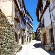 Typical street in Mogarraz village, Salamanca. — Stock Photo #51521571