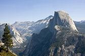 Montaña media bóveda — Foto de Stock