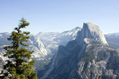 Half dome mountain — Stock Photo