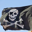 Pirate flag — Stock Photo