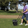 Lawn fertilizer — Stock Photo