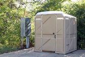Portable bathroom — Stock Photo