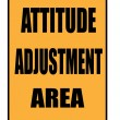 Attitude adjustment aresign — Stock Photo #36527377