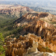 Stock Photo: Bryce canyon overlook