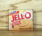 JELLO Instant Pudding and Pie Filling — Stock Photo