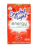 Box of Crystal Light Wild Strawberry Drink Mix — Stock Photo