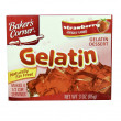 Box of Bakers Corner Strawberry Gelatin — Stock Photo #39346775