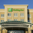 Stock Photo: Holiday Inn Hotel Front