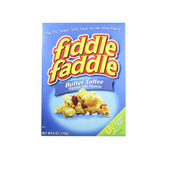 Box of Fiddle Faddle Popcorn — Stock Photo