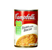 Can of Campbell's Bean with Bacon Soup — Stock Photo