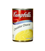 Can of Campbell's Cheddar Cheese Soup — Stock Photo