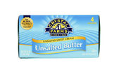 Box of Crystal Farms Unsalted Butter — Stock Photo