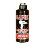 Bottle of Marvel Air Tool Oil — Stock Photo