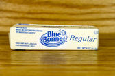 Stick of Blue Bonnet Margarine — Stock Photo