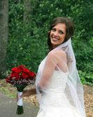 Young bride portrait — Stock Photo